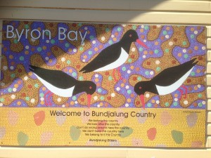 Welcome to Bundjalung Country sign