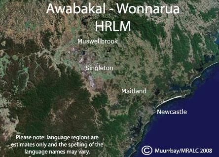 HRLM Language Map