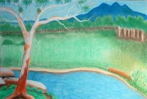Mayalambala bush scene